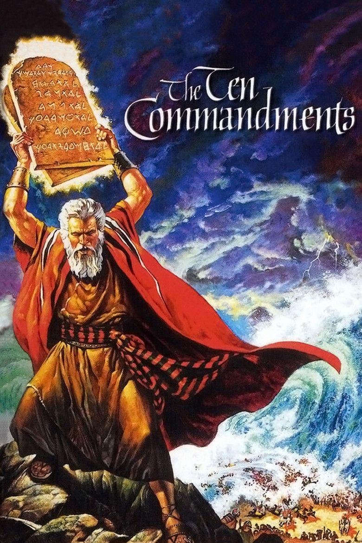 The ten commandments 1956 movie poster