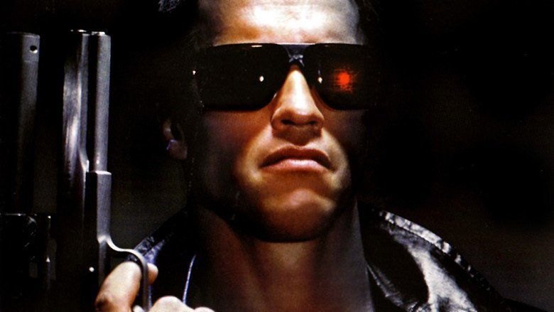 The Terminator movie scenes