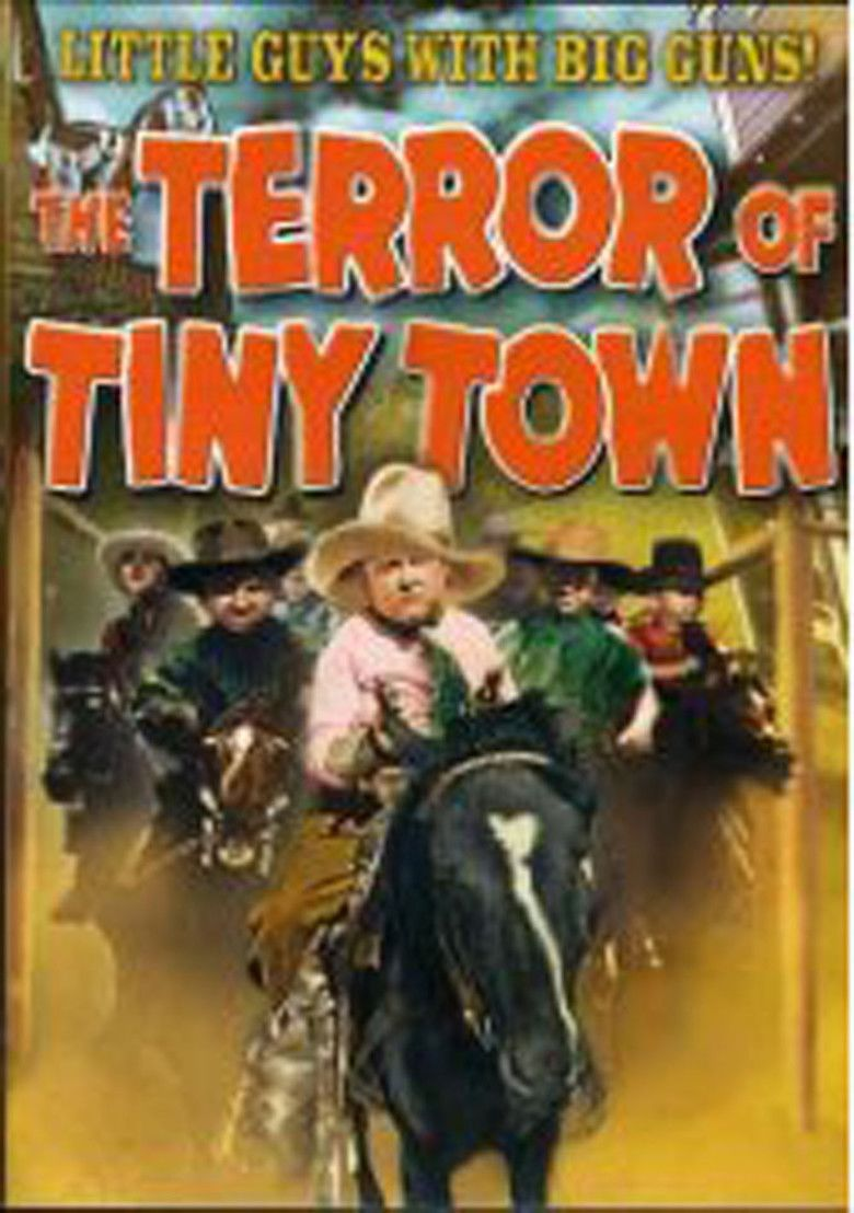 The Terror of Tiny Town movie poster