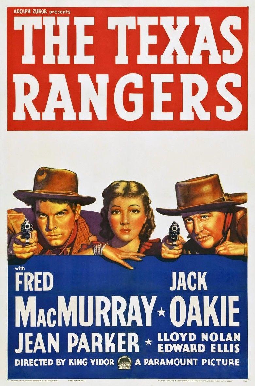 The Texas Rangers (1936 film) movie poster