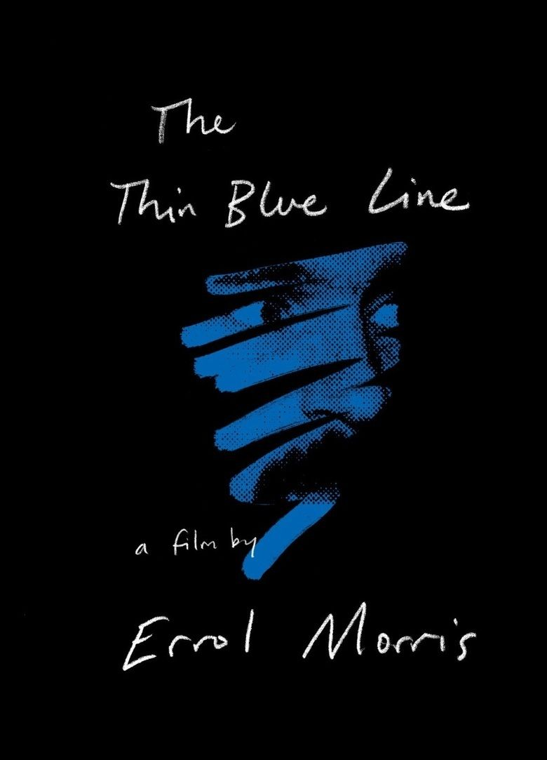 The Thin Blue Line (1988 film) movie poster