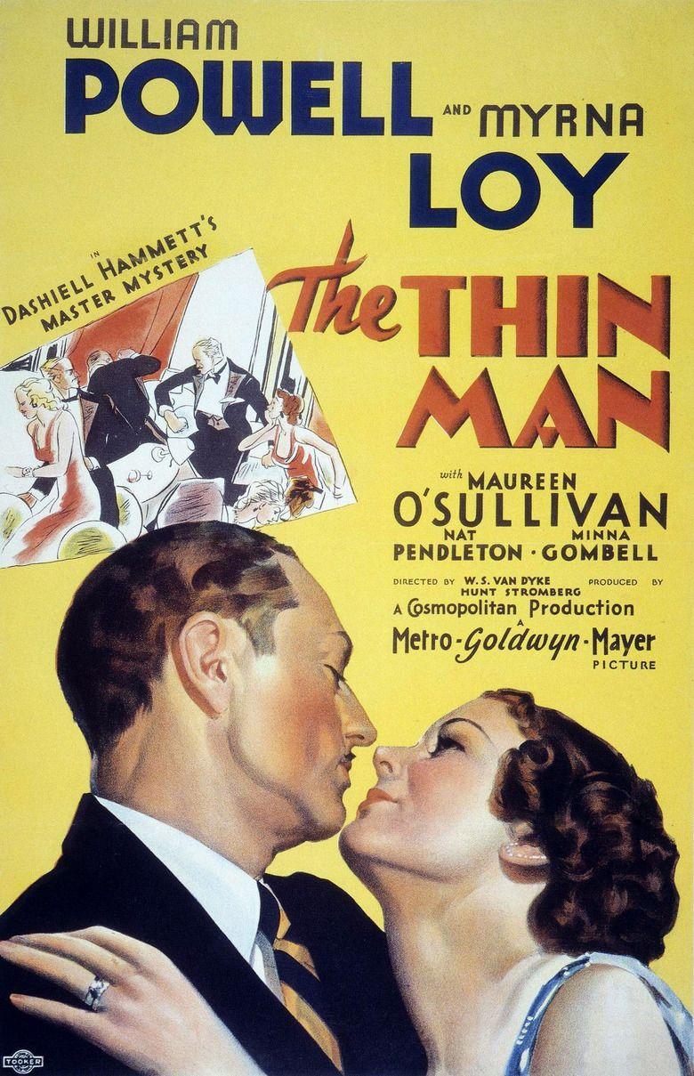 The Thin Man (film) movie poster