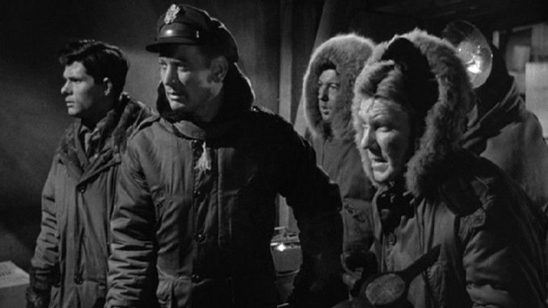 The Thing from Another World movie scenes