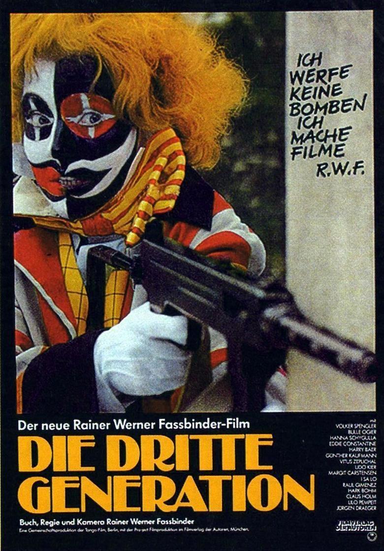 The Third Generation (1979 film) movie poster