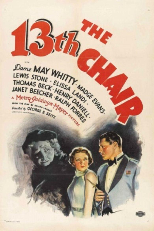 The Thirteenth Chair (1937 film) movie poster