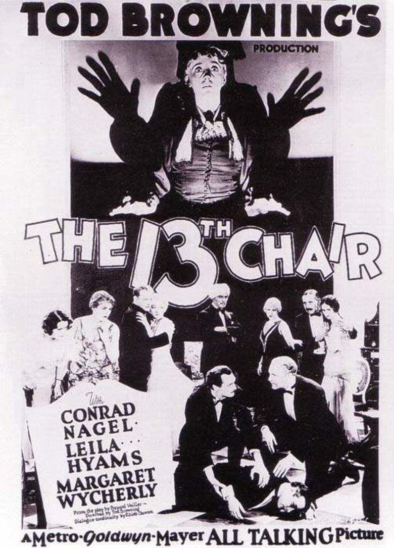 The Thirteenth Chair movie poster
