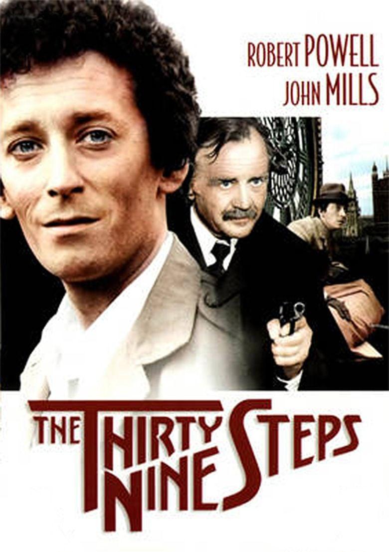 The Thirty Nine Steps (1978 film) movie poster