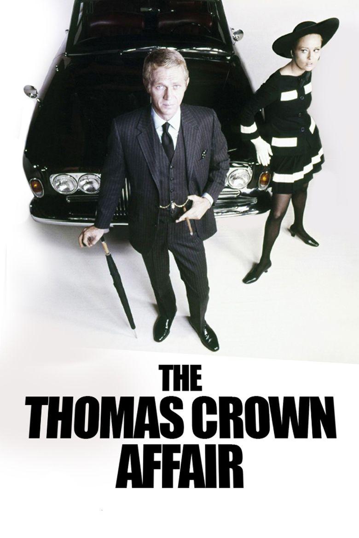 The Thomas Crown Affair (1968 film) movie poster