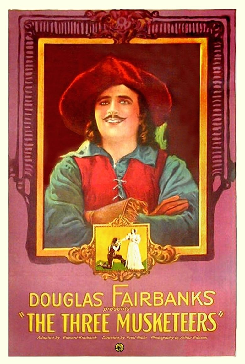 The Three Musketeers (1921 film) movie poster