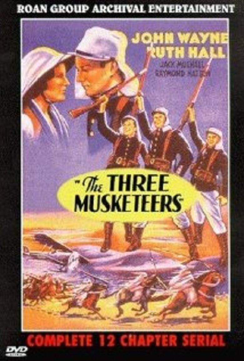 The Three Musketeers (1933 serial) movie poster