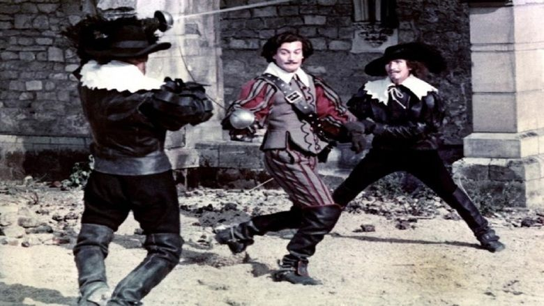 The Three Musketeers (1961 film) movie scenes