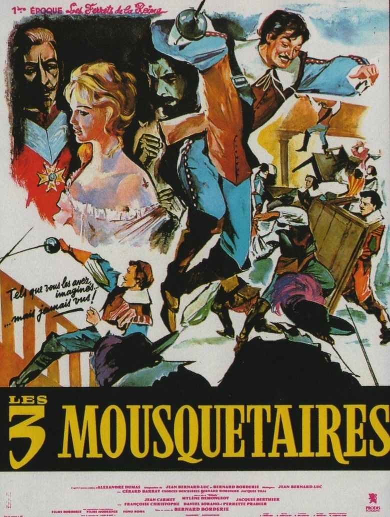 The Three Musketeers (1961 film) movie poster