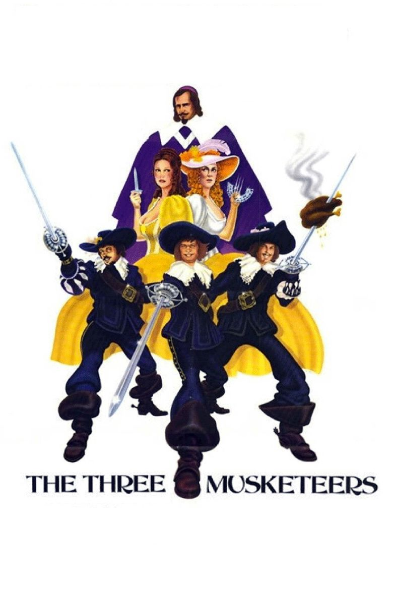 The Three Musketeers (1973 film) movie poster