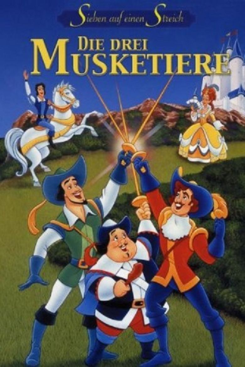 The Three Musketeers (1992 film) movie poster