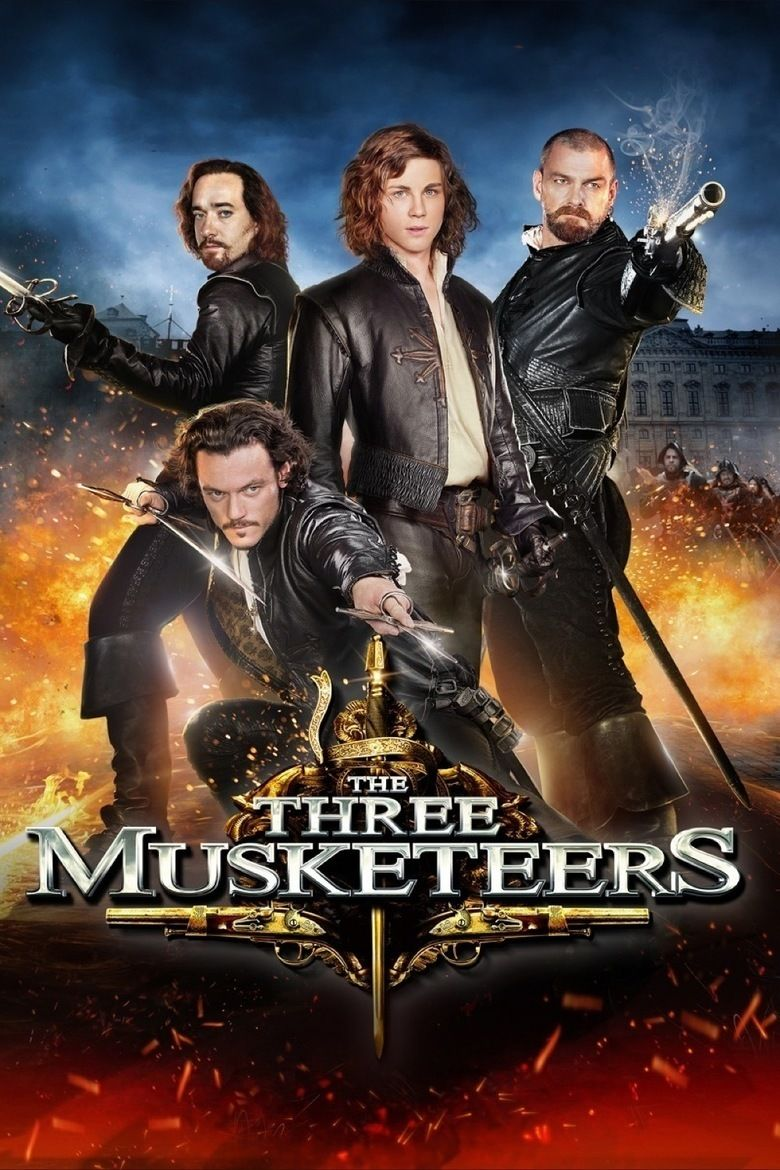 The Three Musketeers (2011 film) movie poster