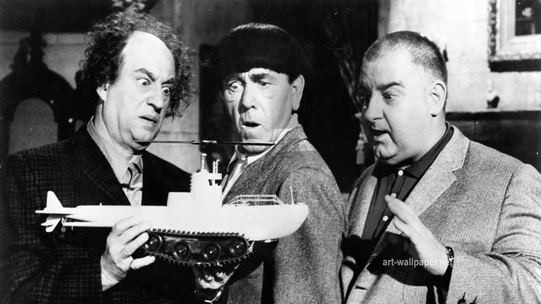 The Three Stooges in Orbit movie scenes