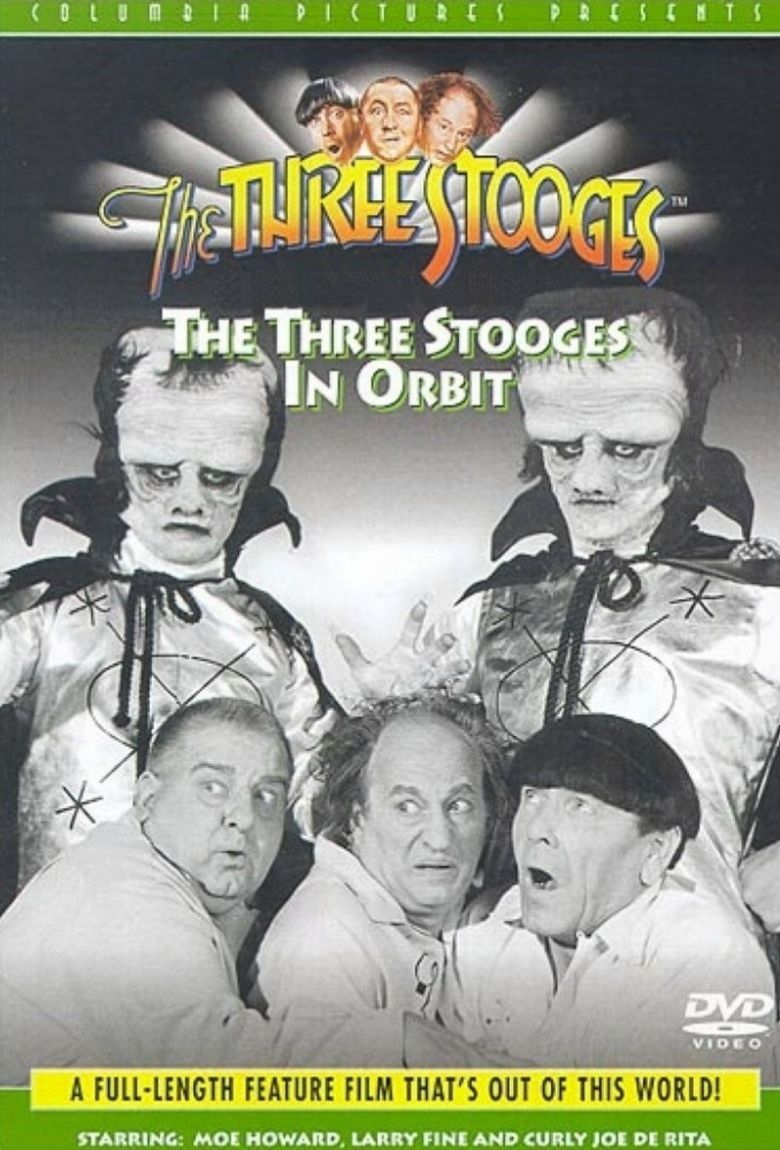 The Three Stooges in Orbit movie poster