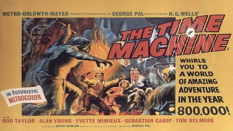 The Time Machine (1960 film) movie scenes