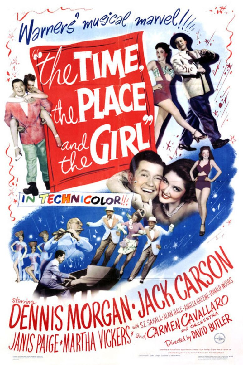 The Time, the Place and the Girl (1946 film) movie poster