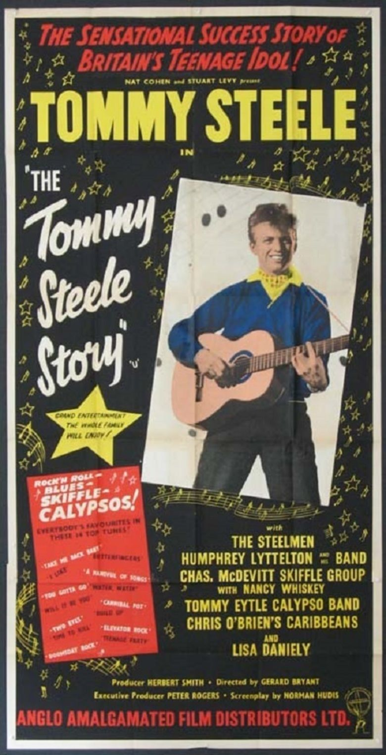 The Tommy Steele Story movie poster