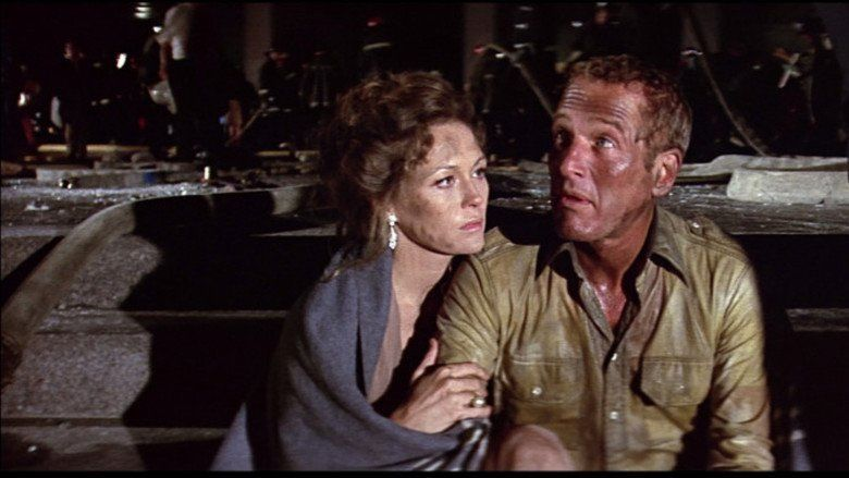 The Towering Inferno movie scenes