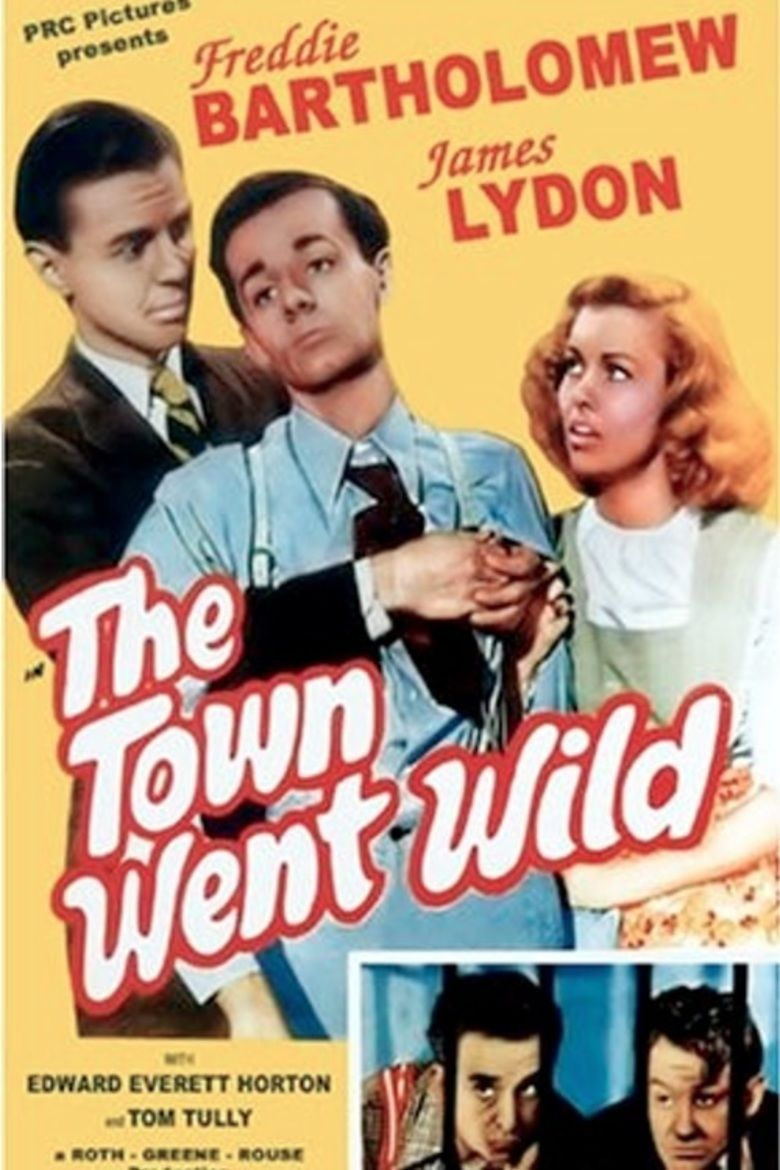 The Town Went Wild movie poster