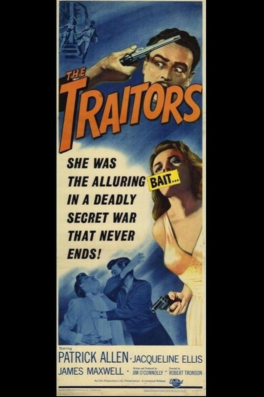 The Traitors (1962 film) movie poster