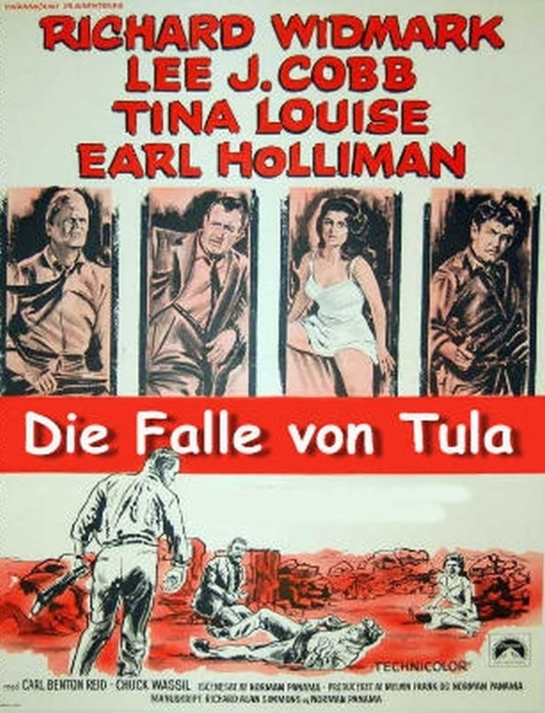 The Trap (1959 film) movie poster