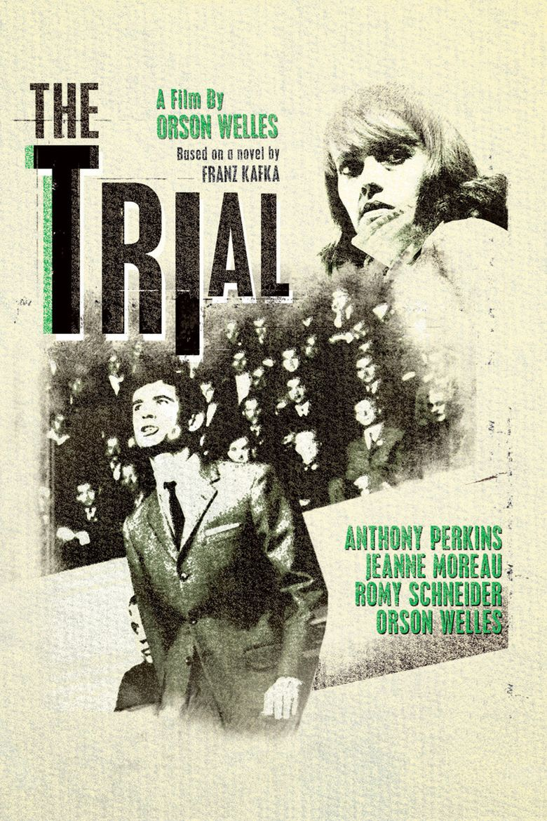 The Trial (1962 film) movie poster