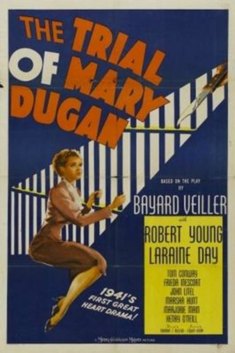The Trial of Mary Dugan (1941 film) movie poster