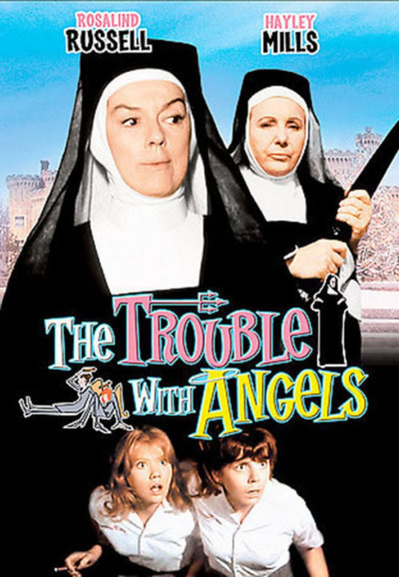 The Trouble with Angels (film) movie poster