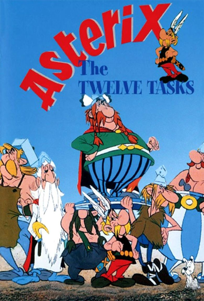 The Twelve Tasks of Asterix movie poster
