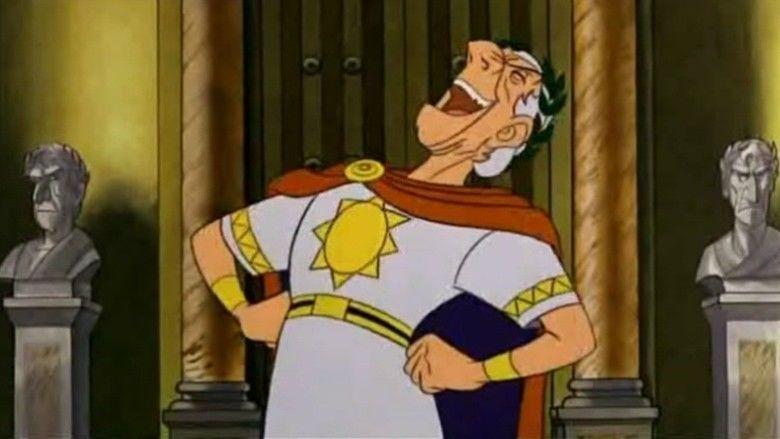 The Twelve Tasks of Asterix movie scenes