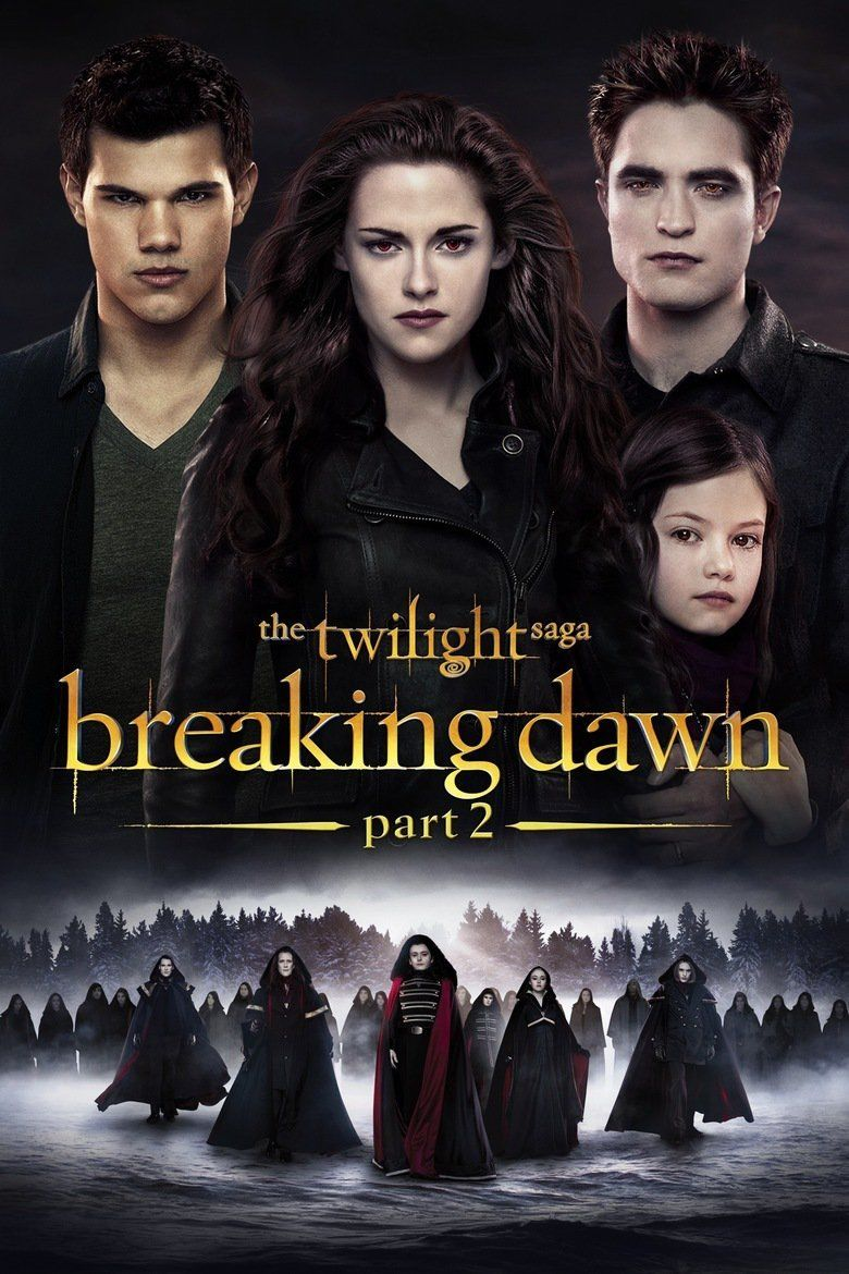 The Twilight Saga: Breaking Dawn Part 2 movie poster
