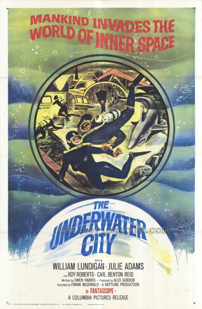 The Underwater City movie poster