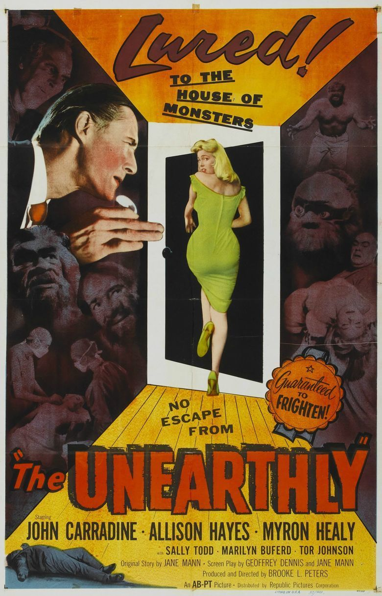 The Unearthly movie poster