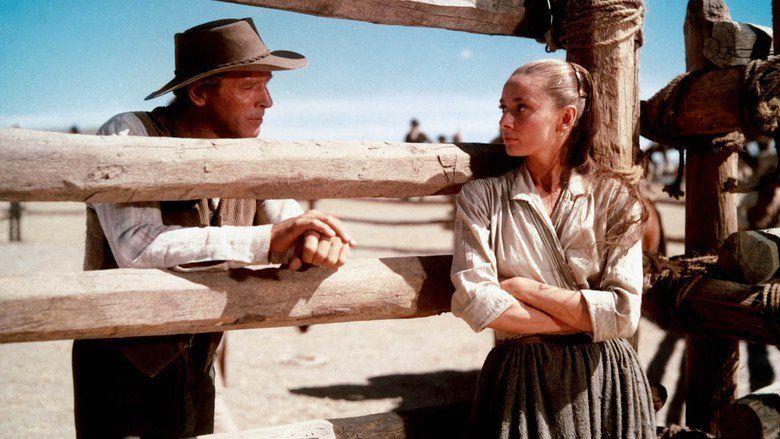The Unforgiven (1960 film) movie scenes
