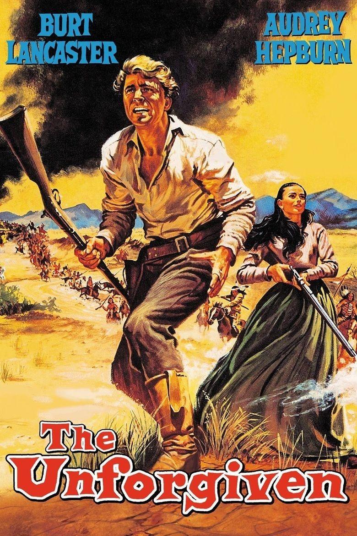 The Unforgiven (1960 film) movie poster