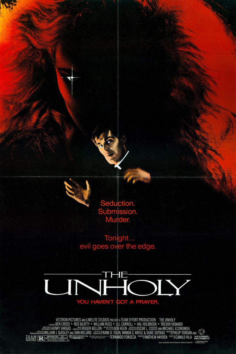The Unholy (1988 film) movie poster