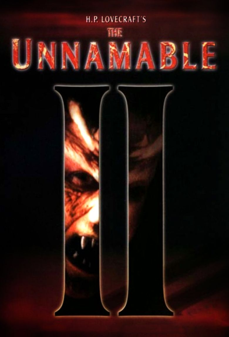 The Unnamable II: The Statement of Randolph Carter movie poster