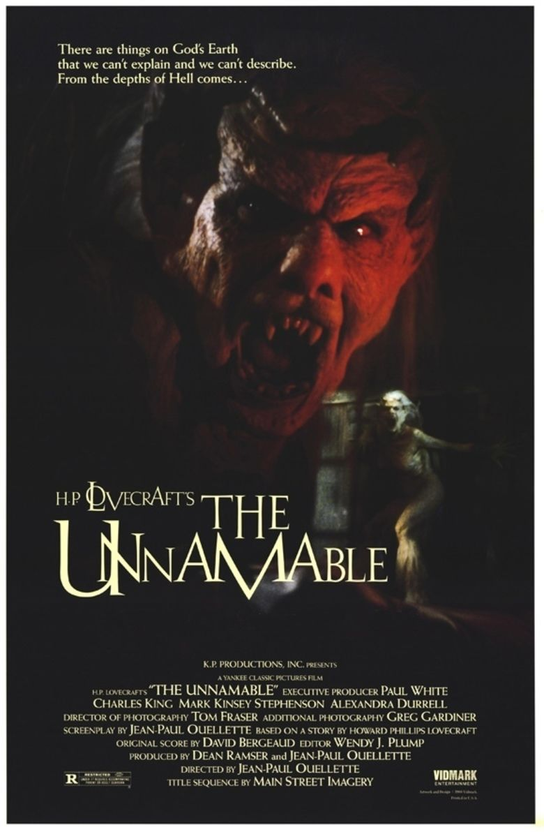 The Unnamable (film) movie poster
