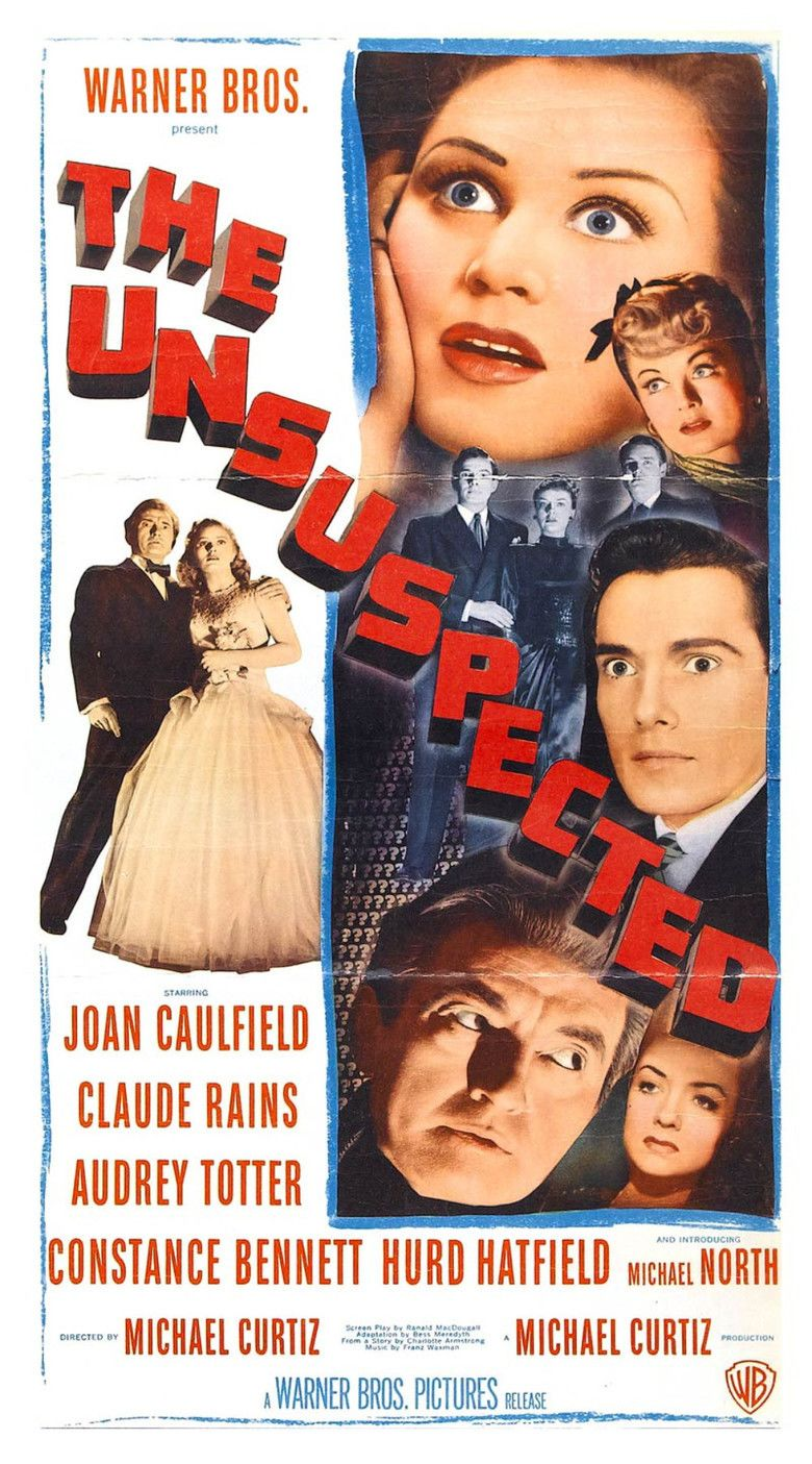 The Unsuspected movie poster