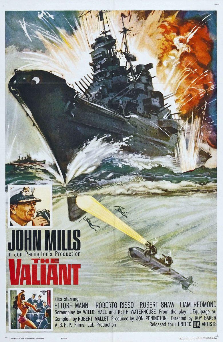 The Valiant (1962 film) movie poster