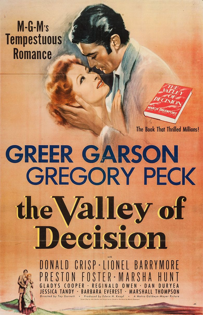 The Valley of Decision movie poster
