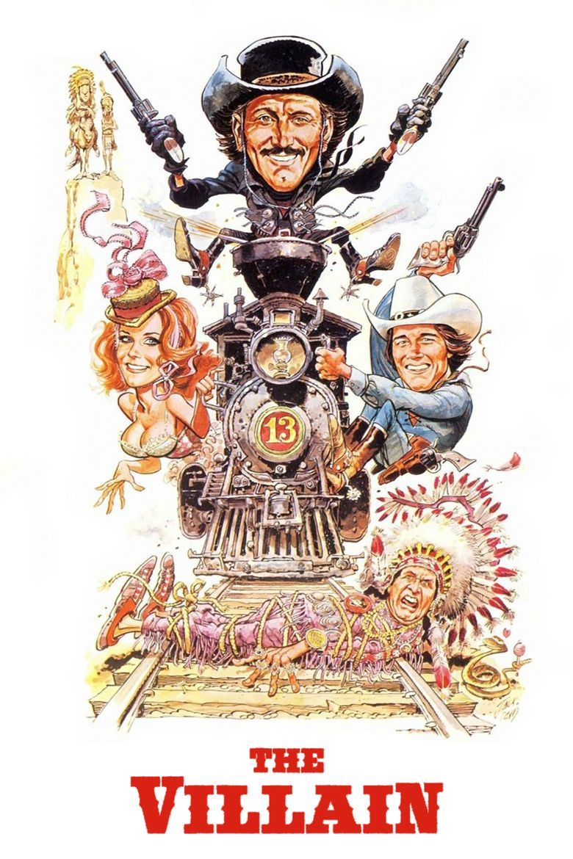 The Villain (1979 film) movie poster