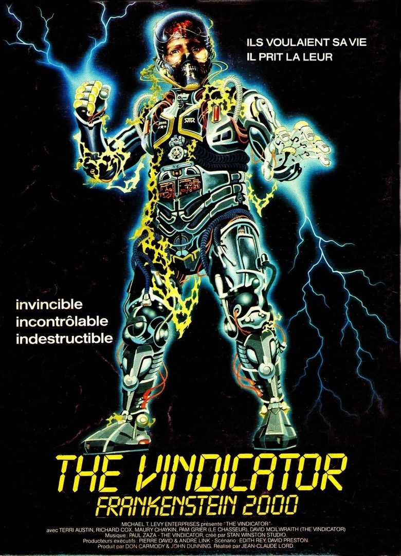 The Vindicator (film) movie poster