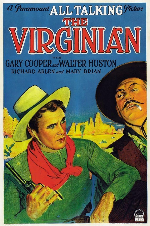 The Virginian (1929 film) movie poster