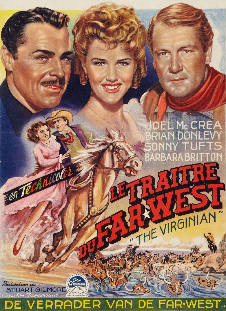 The Virginian (1946 film) movie poster