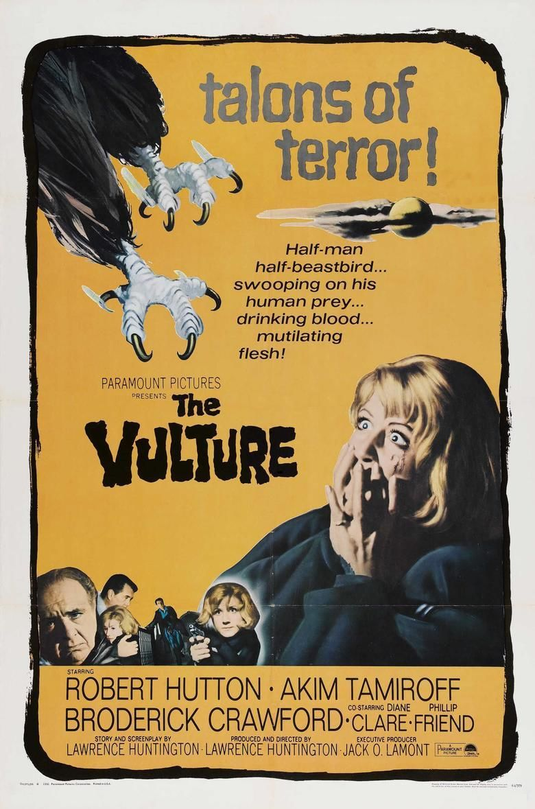 The Vulture (1967 film) movie poster