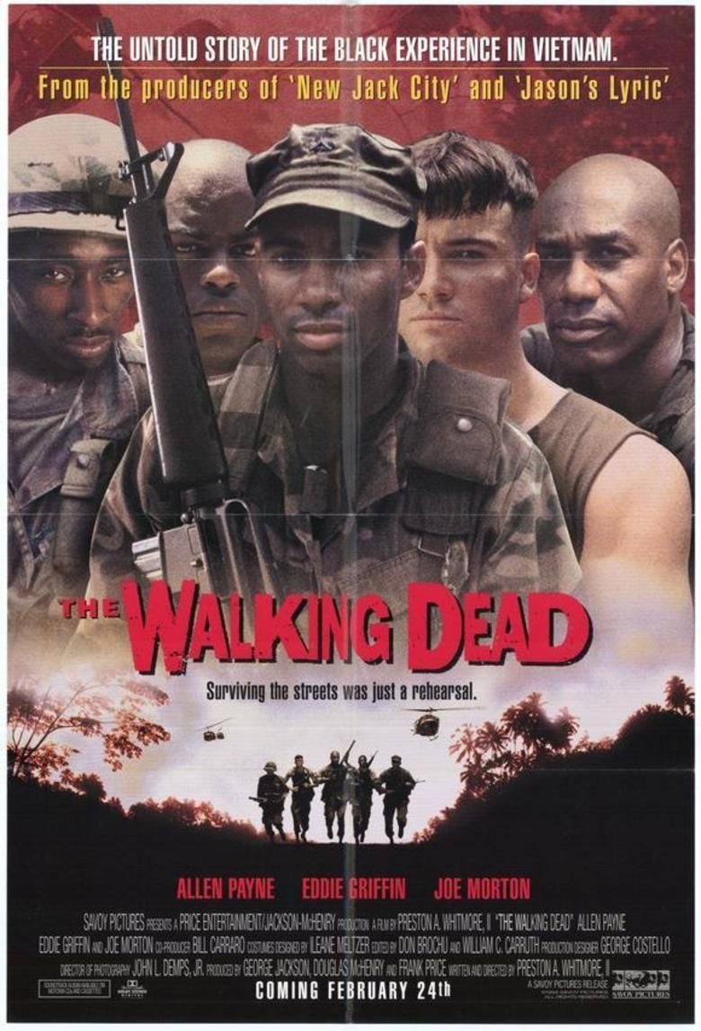 The Walking Dead (1995 film) movie poster